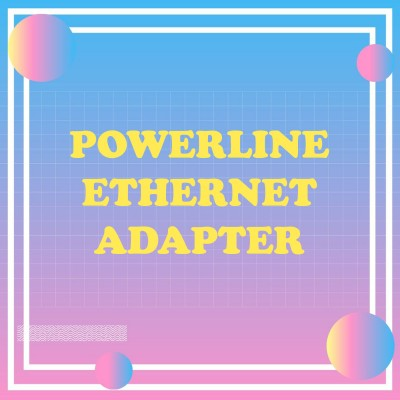 Powerline Ethernet Adapter
