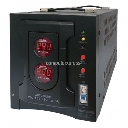 (PRE-ORDER 10 DAYS) NEUROPOWER AVS-R5K0 5KVA Type Tap-Switching Relay Industrial Automatic Voltage Stabilizer