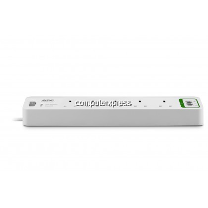APC Essential SurgeArrest 5 outlets with Phone Protection 230V UK (PM5T-UK)