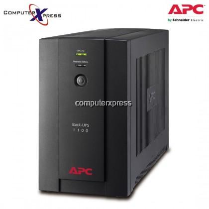 APC Backup Battery UPS 1100VA, 230V, AVR, Universal and IEC Sockets (BX1100LI-MS)