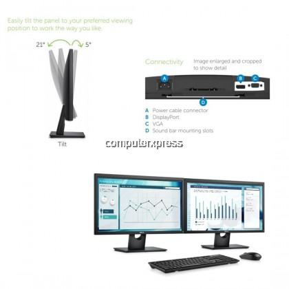 Dell E2417H 24 Inch Full HD LED Monitor (1920 X 1080) (210-AKTK)