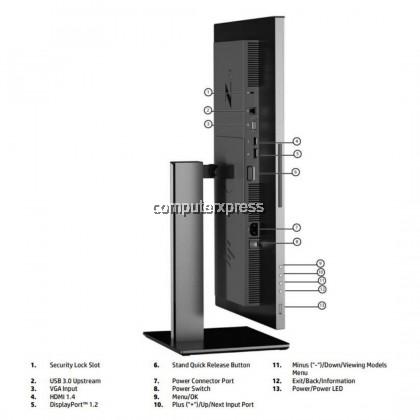 HP Z24i G2 24-inch Display Monitor