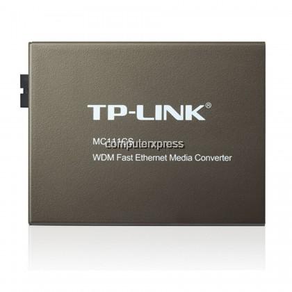 TP-LINK MC111CS 10/100Mbps WDM Media Converter
